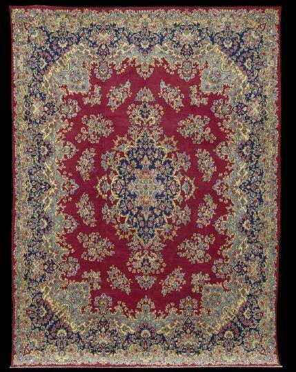 401: Persian Kerman Carpet