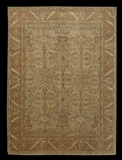 402: Turkish Oushak Carpet