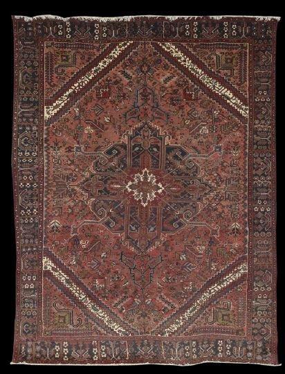 406: Persian Heriz Carpet