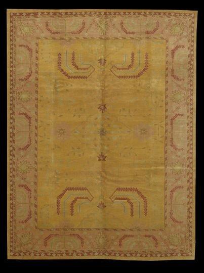 410: Turkish Oushak Carpet
