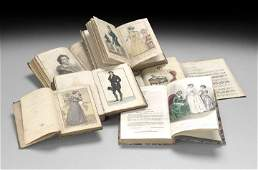 837: Six Volumes with Hand-Colored Fashion Plates