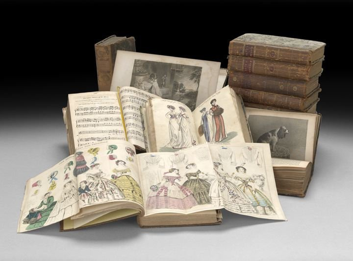 839: Thirteen Volumes of  Ladies' Magazines