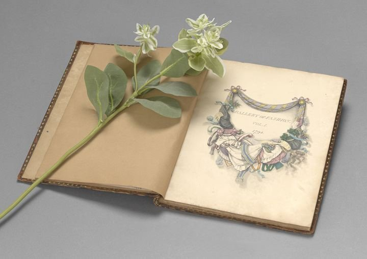 """840: First Edition of Heideloff's """"Gallery of Fashion"""""""