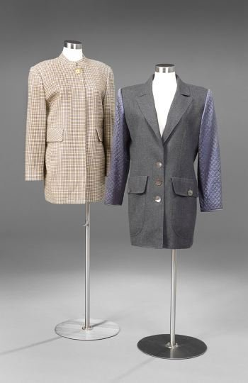 853: Two Valentino Boutique Jackets