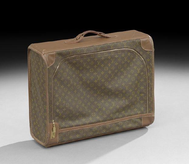 854: Louis Vuitton, Paris, Softside Suitcase