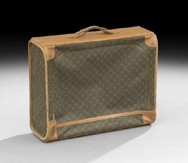 855: Louis Vuitton, Paris, Softside Suitcase
