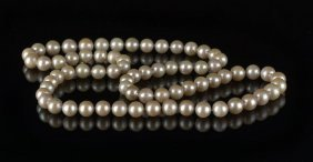 Good Strand Of Blush- Colored Pearls