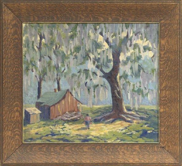 956: Studio of Clarence Millet (Louisiana, 1897-1959)