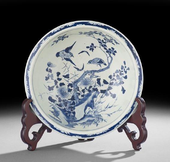 428: Chinese Porcelain Basin