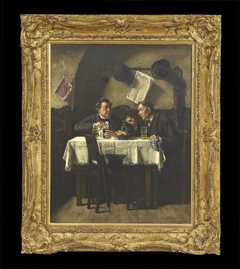 655: Anton Muller (Austrian, 1853-1897)