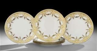 674 Set of Six Minton Dinner Plates
