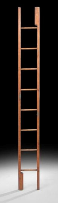 24: English Pine Library Ladder