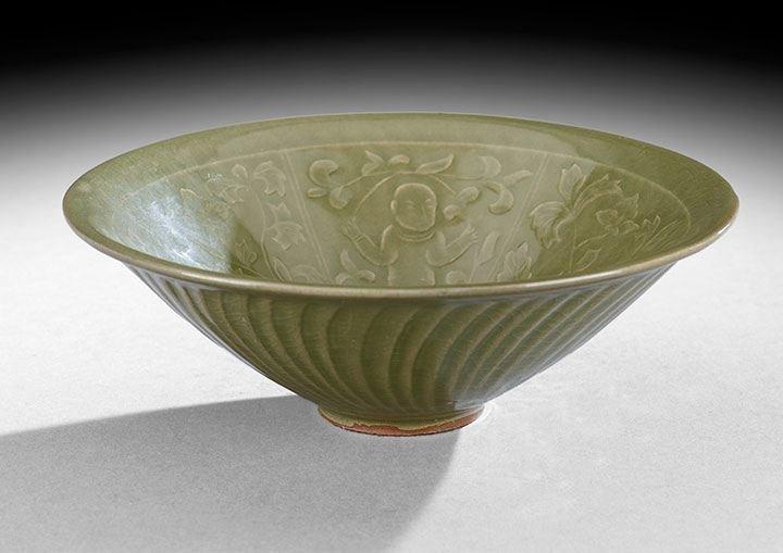 14: Chinese Stoneware Bowl