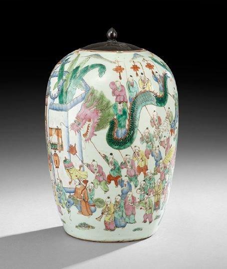 24: Chinese Porcelain Jar