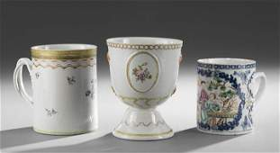 361 Group of Three Chinese Export Porcelain Items