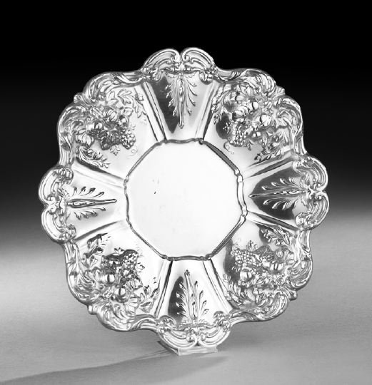"""Reed & Barton """"Francis I"""" Sterling Sandwich Plate"""