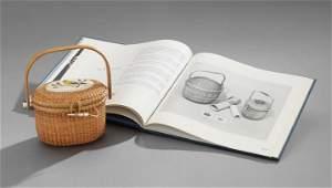 Nantucket Cane and Ivory Handbag
