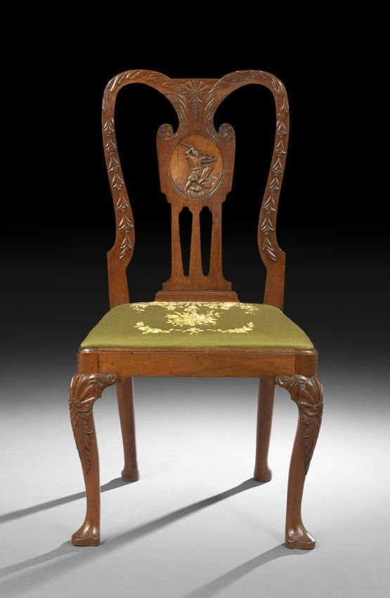 George III Mahogany Sidechair