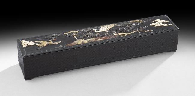 Chinese Rectangular Wood Box