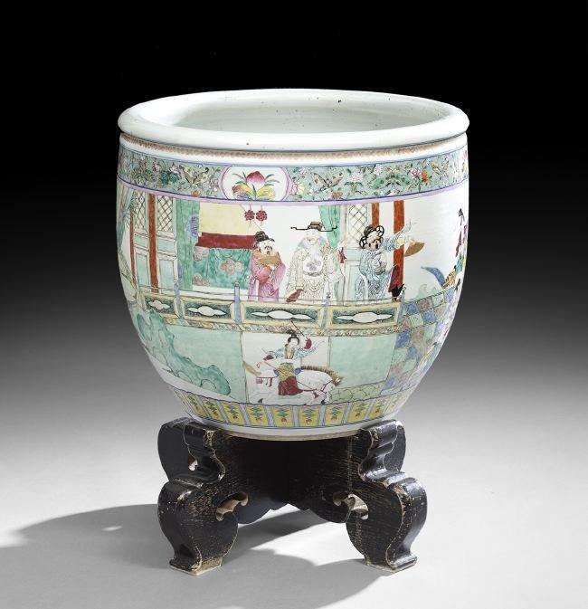 Chinese Porcelain Tree Tub