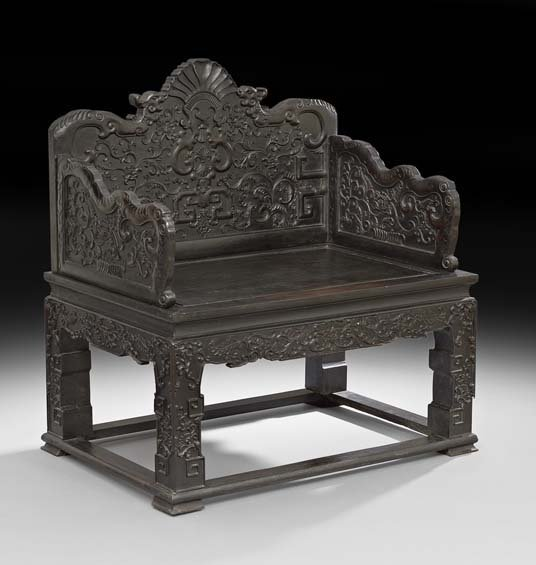Chinese Throne Chair