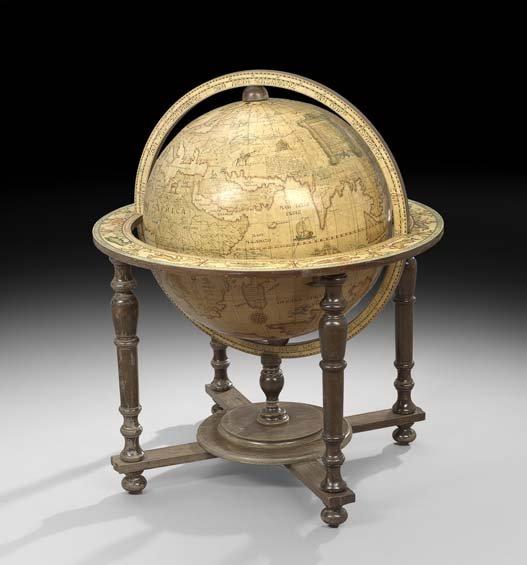 Large Italian Floor Globe