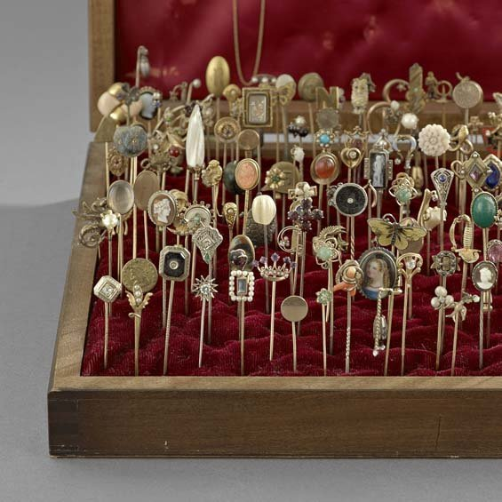 Large Collection of Antique Stick Pins - 2