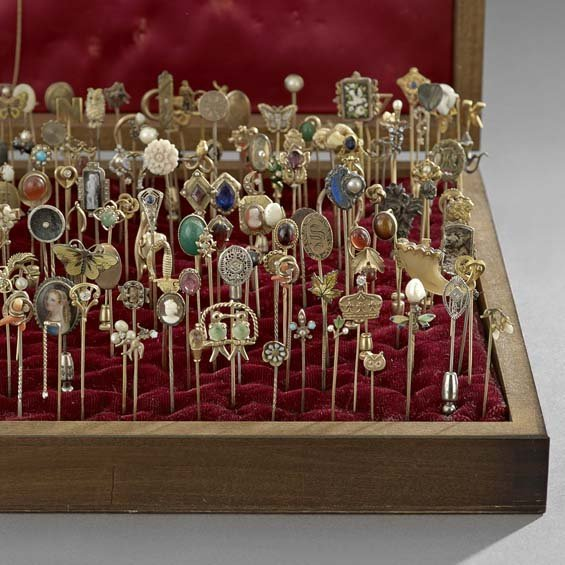 Large Collection of Antique Stick Pins - 3