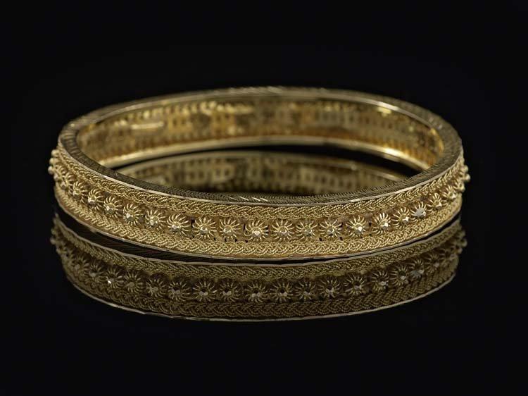 18 Kt. Yellow Gold Nomadic Bangle Bracelet