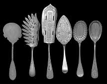 16 Pcs of American Aesthetic Silver Flatware