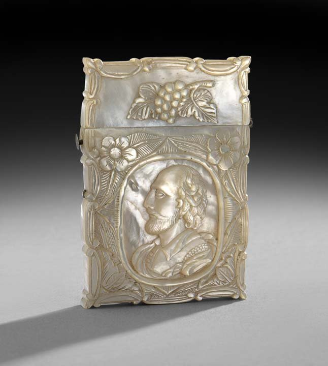 French Mother-of-Pearl Carte-de-Visite Case