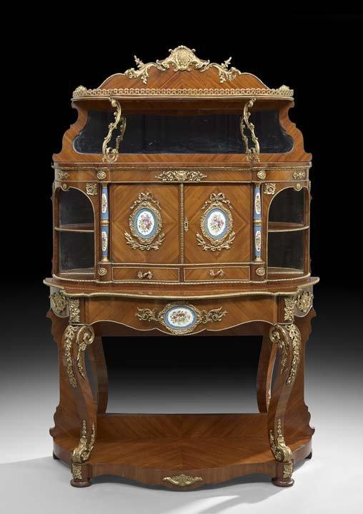 Napoleon III-Style Kingwood Cabinet