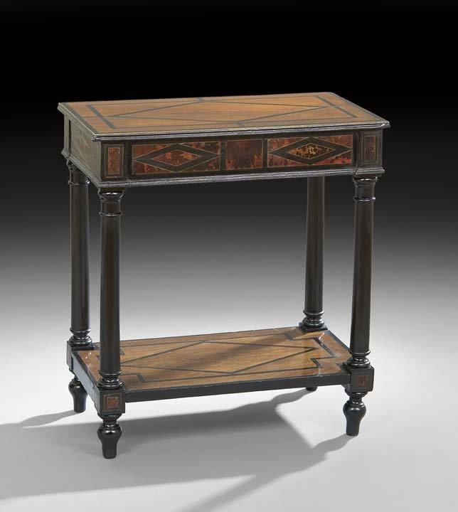 Napoleon III Mahogany Occasional Table
