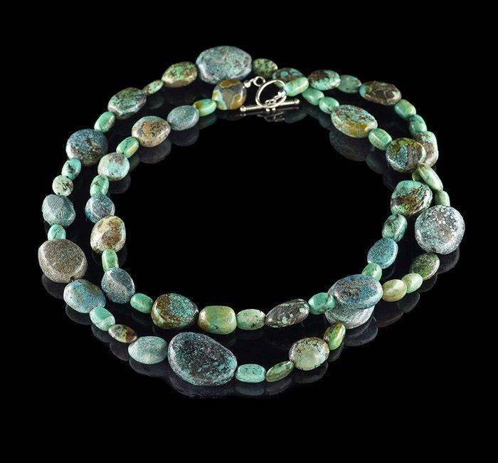 Opera-Length Turquoise Necklace