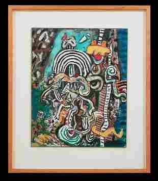 Alan Davie (British, 1920-2014)
