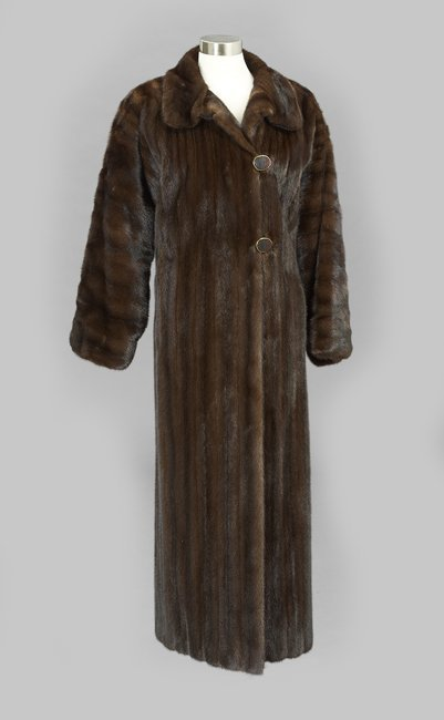Louis Dell' Olio Full-Length Mink Coat
