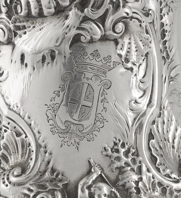 Fine Early Louis XV Silver Cafetiere Marabout - 6