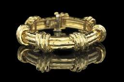 Henry Dunay 18 Kt Yellow Gold Bracelet