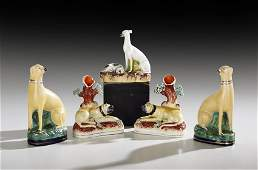 Collection of Five English Dog Figures