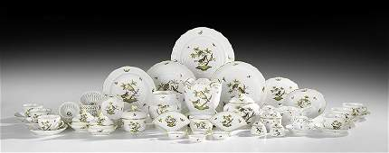 """Collection of Herend """"Rothschild Bird"""" Porcelain"""