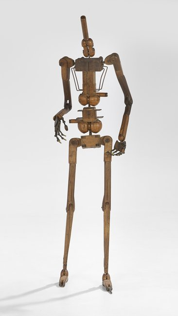 Rare Wood and Metal Life-Size Mannequin Skeleton - 2