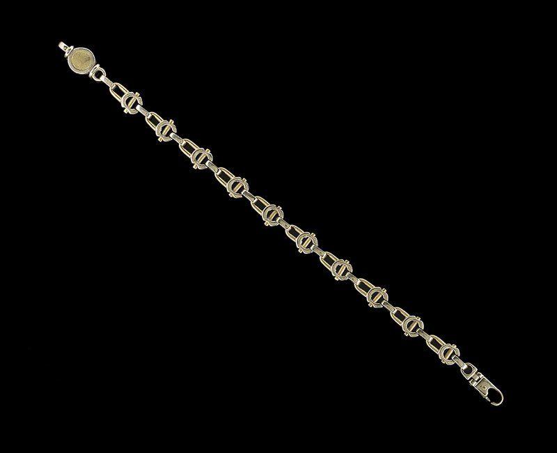 18 Kt. Yellow/White Gold Gucci Bracelet
