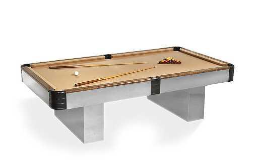 MidCentury Modern Steel Elm Pace Pool Table - Mid century modern pool table