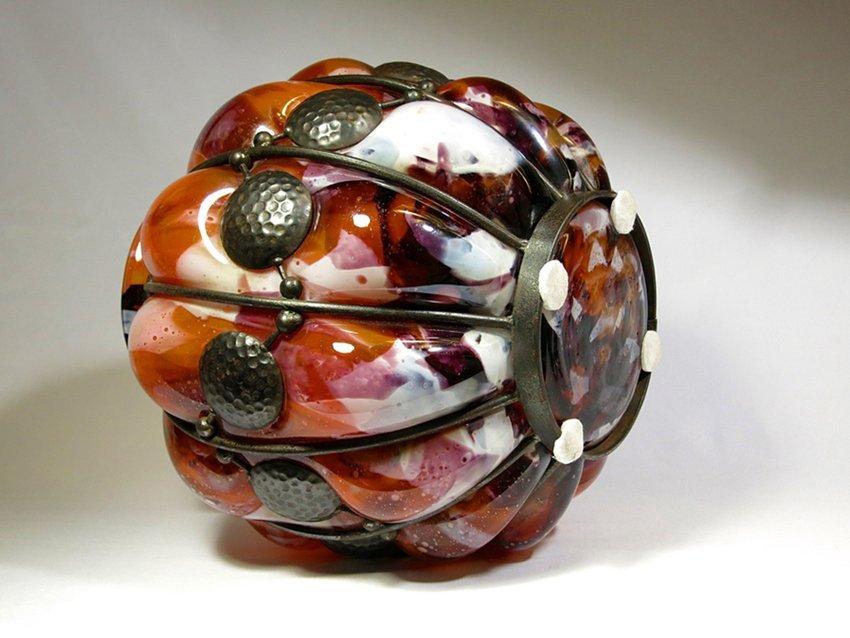 Daum Nancy and Louis Majorelle Art Deco Vase - 4