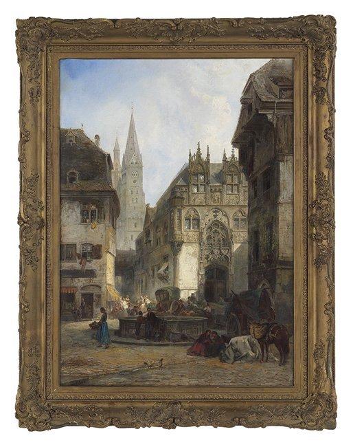Pierre Tetar van Elven (Dutch, 1828/1831-1908)