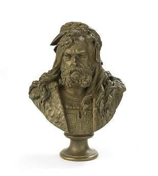 Patinated Bronze of a Renaissance Gentleman