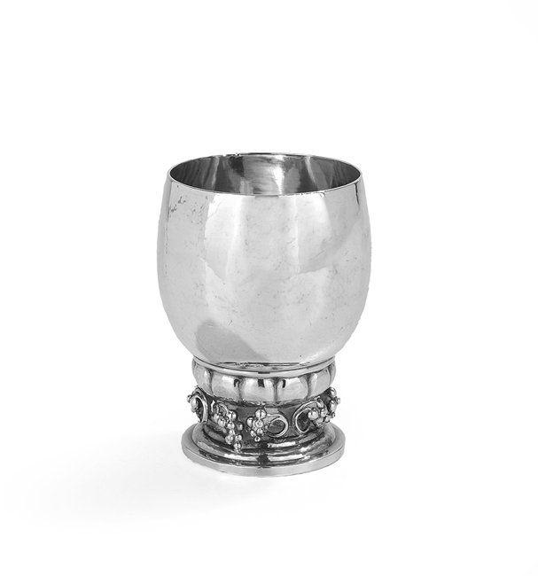 "Georg Jensen Sterling Silver Medium ""Grapes"" Cup"