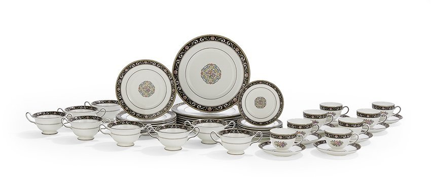 "Service of Wedgwood ""Runnymede"" Porcelain"
