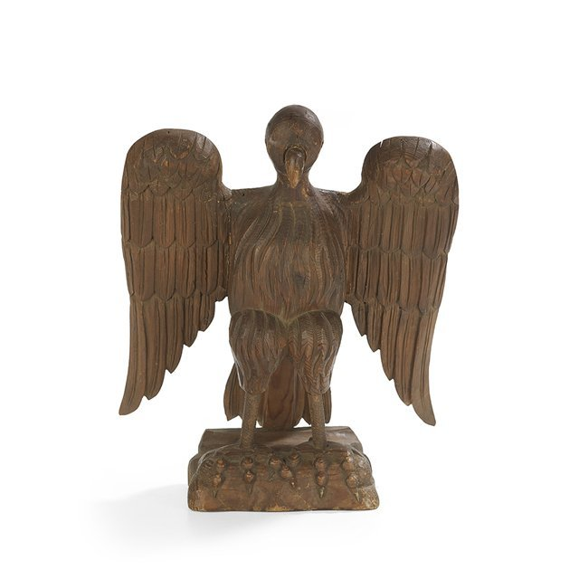 Continental Pine Eagle-Form Reading Stand