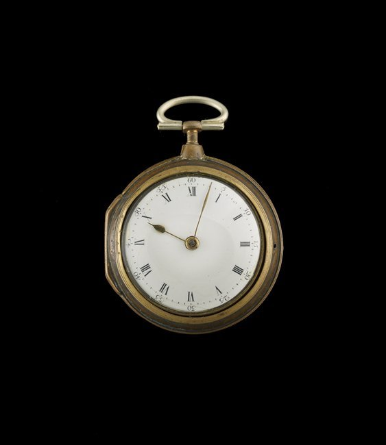 English Tortoiseshell Pair Case Pocket Watch